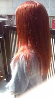 2年ぶり髪色チェンジ